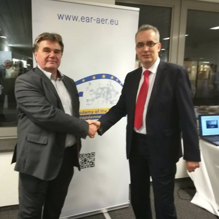 With MEP Jakovcic
